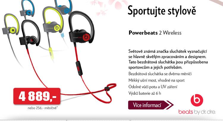 Sluchátka Powerbeats 2 Wireless