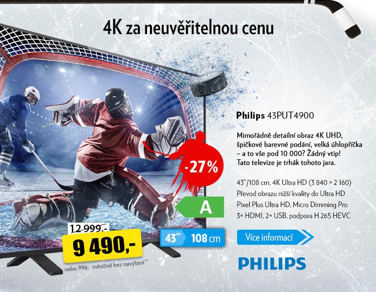 Televize Philips 43PUT4900