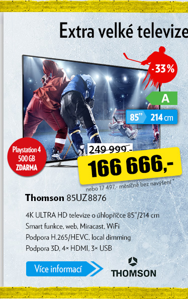 Televize Thomson 85UZ8876