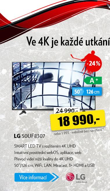 Smart LED TV LG 50UF8307
