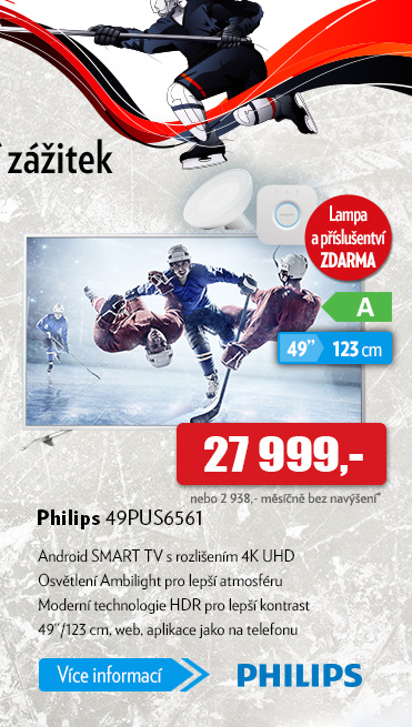 Android Smart TV Philips 49PUS6561