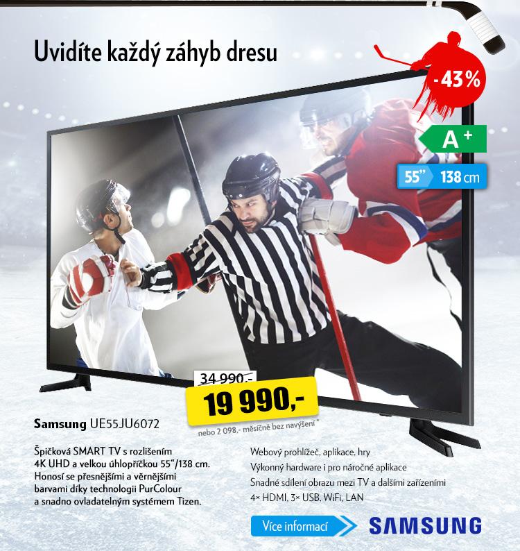 Smart TV Samsung UE55JU6072