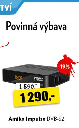 Přijímač Amiko Impulse DVB-S2