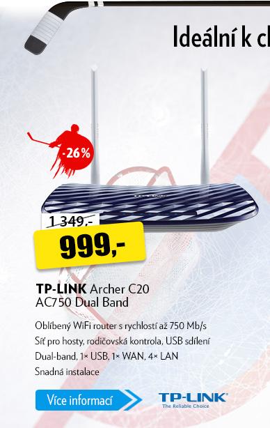 TP-LINK Archer C20 AC750 Dual Band