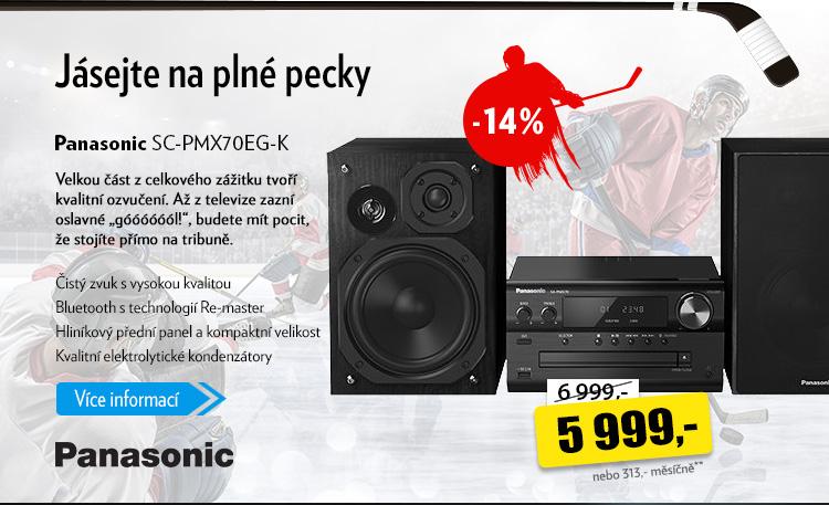 Ozvučení Panasonic SC-PMX70EG-K