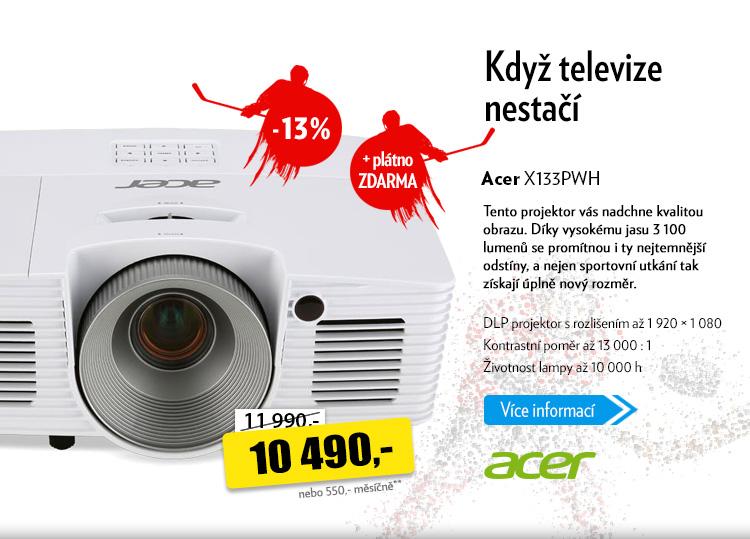 Projektor Acer X133PWH