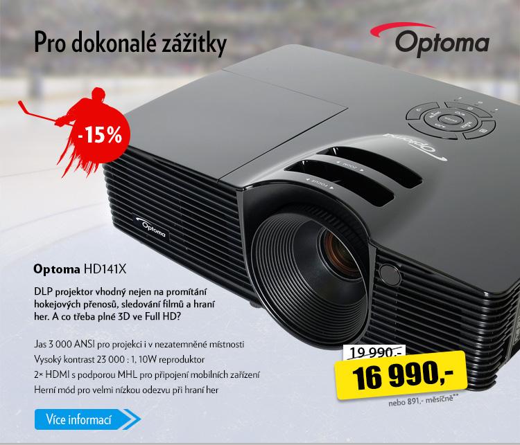 DLP projektor Optoma HD141X
