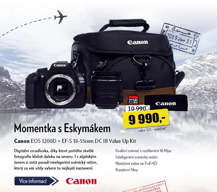 Fotoaparát Canon EOS 1200D