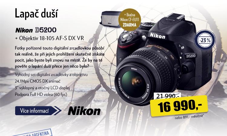 Fotoaparát Nikon D5200