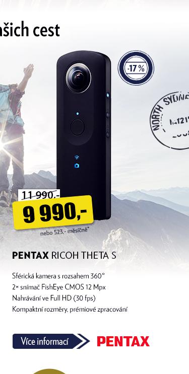 Sférická kamera Pentax Ricoh Theta S