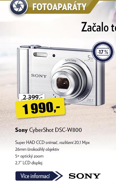 Fotoaparát Sony CyberShot DSC-W800