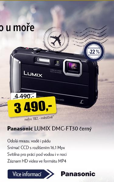 Fotoaparát Panasonic LUMIX DMC-FT30