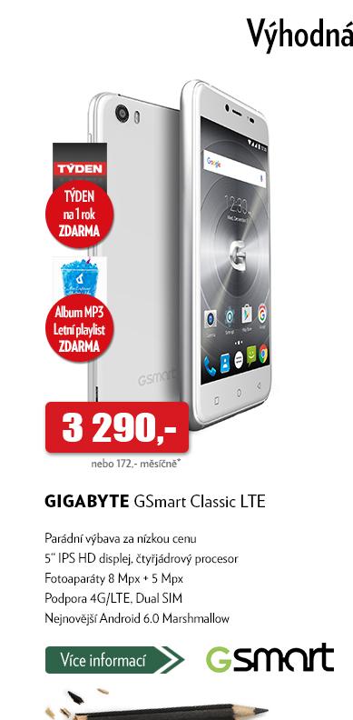 Telefon Gigabyte GSmart Classic LTE