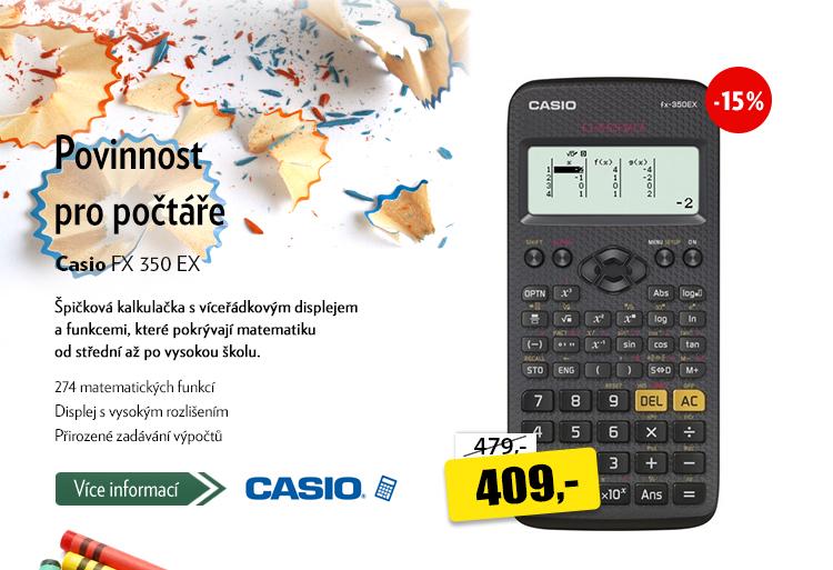 Kalkulačka Casio FX 350 EX