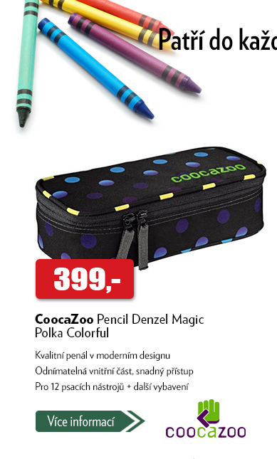 Penál CoocaZoo