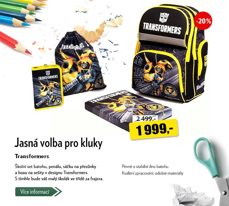 Školní set Transformers