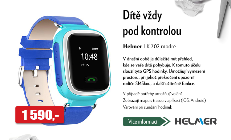 GPS hodinky Helmer LK 702
