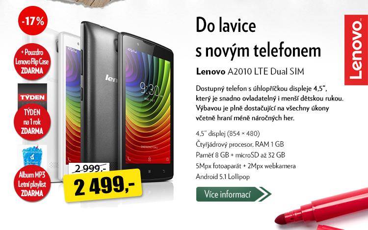 Telefon Lenovo A2010 LTE Dual SIM