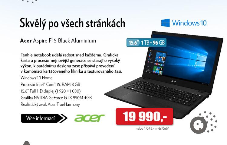 Notebook Acer Aspire F15