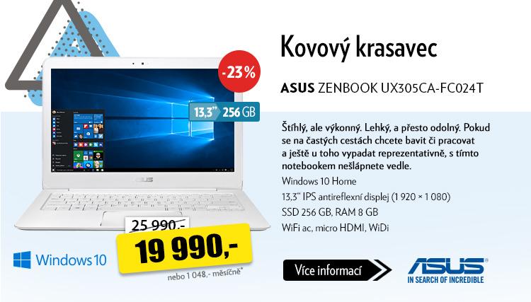 Notebook ASUS ZENBOOK UX305CA-FC024T