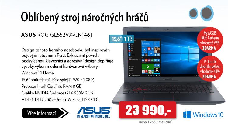 Notebook ASUS ROG GL552VX-CN146T