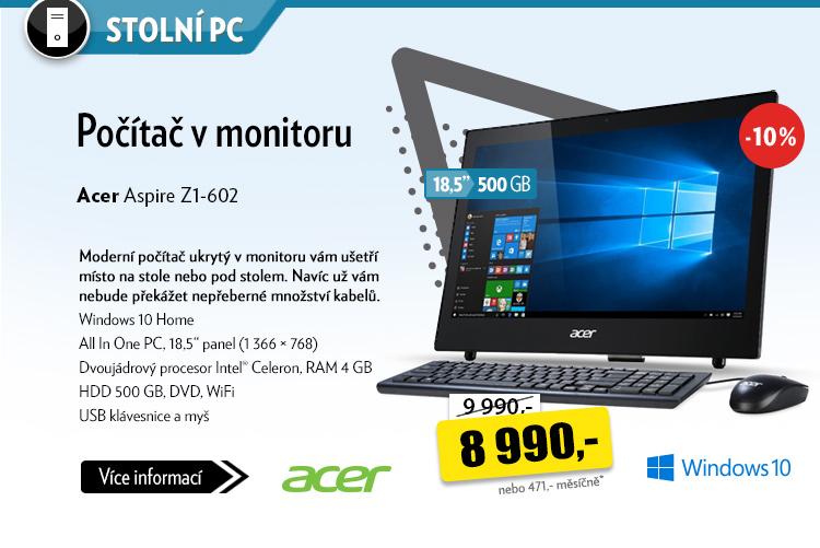 Počítač Acer Aspire Z1-602