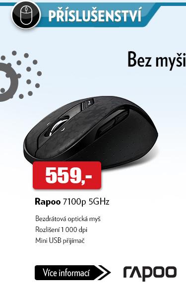 Bezdrátová myš Rapoo 7100p