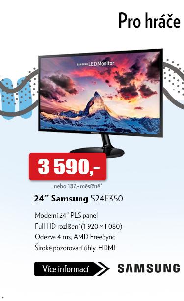 Monitor 24 Samsung S24F350
