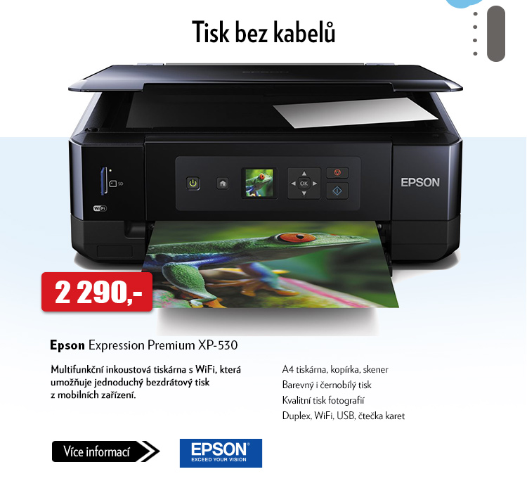 Tiskárna Epson Expression Premium XP-530