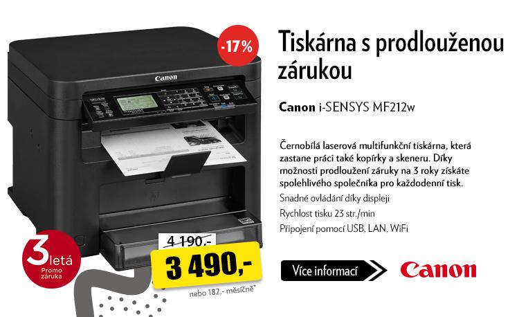 Tiskárna Canon i-SENSYS MF212w