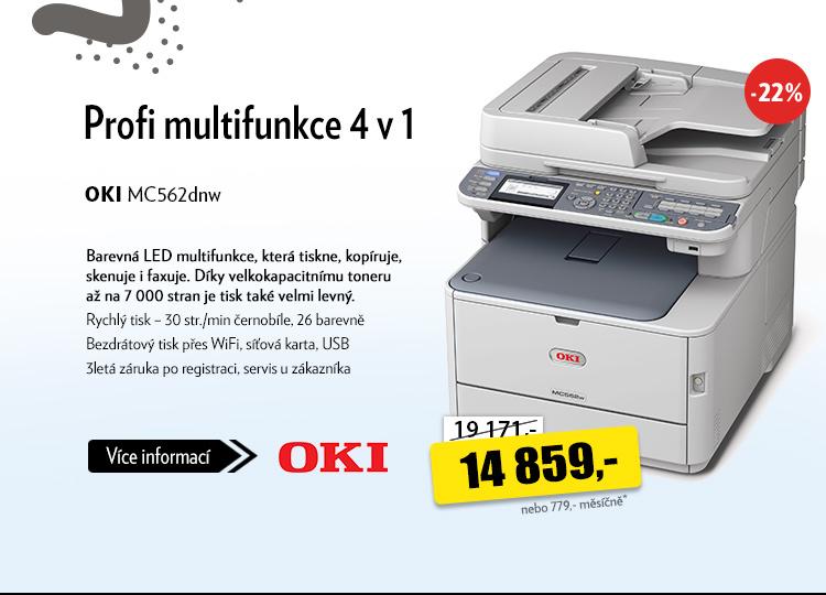 Tiskárna OKI MC562dnw