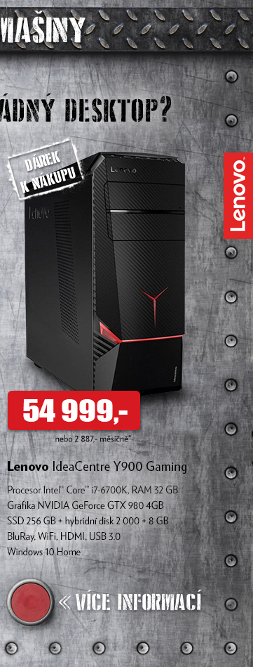 Lenovo IdeaCentre Y900 Gaming
