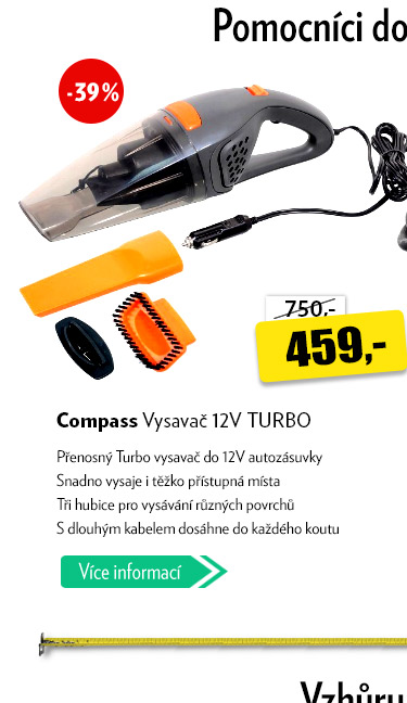 Vysavač Compass Turbo