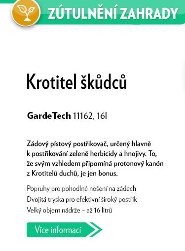 Zádový pístový postřikovač Garde Tech 11162