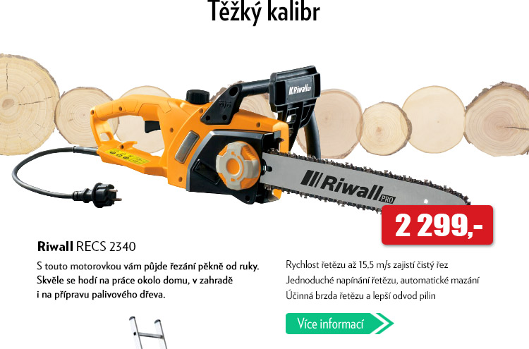 Motorová pila Riwall RECS 2340