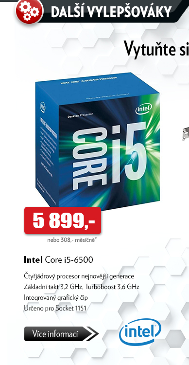 Procesor Intel Core i5-6500