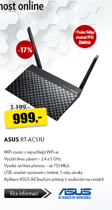 WiFI router ASUS RT-AC51U