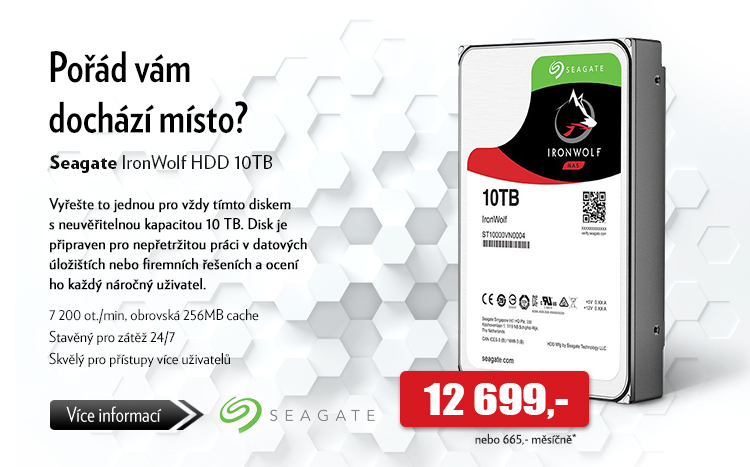 Disk Seagate IronWolf HDD 10TB