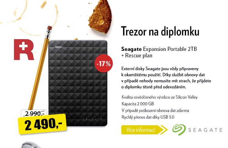 Externí disk Seagate Expansion portable 2TB