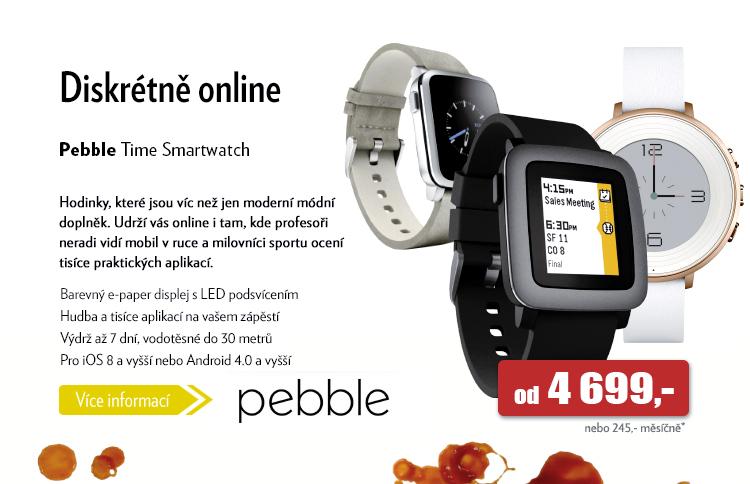 Hodinky Pebble Time Smartwatch