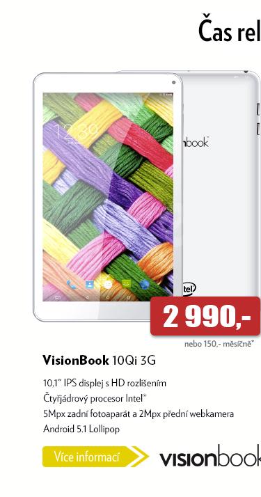 Tablet VisionBook 10Qi 3G