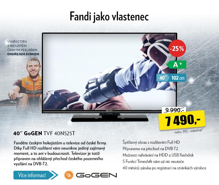 TV GoGen TVF 40N525T