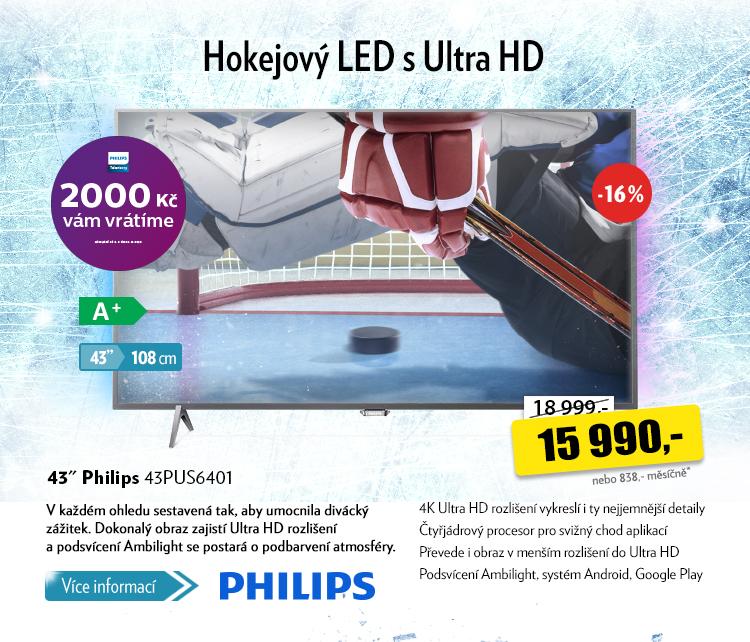 TV Philips 43PUS6401