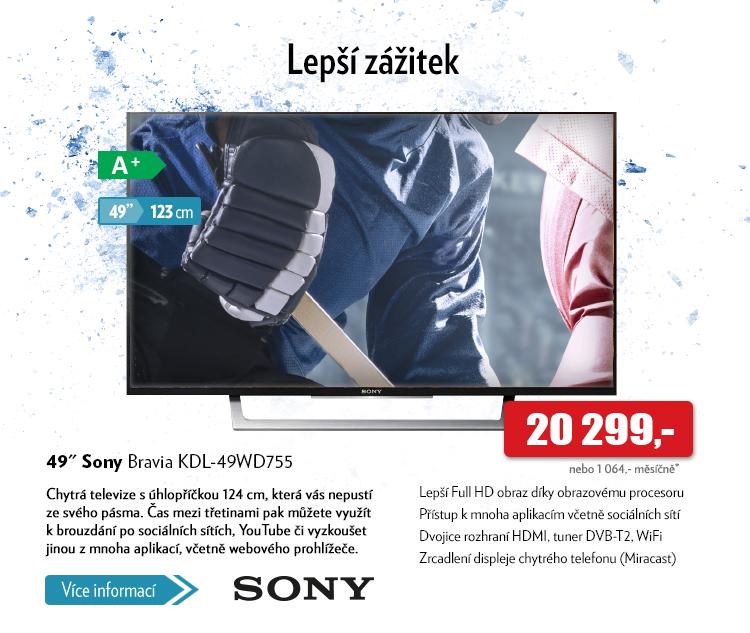 TV Sony Bravia KDL-49ED755