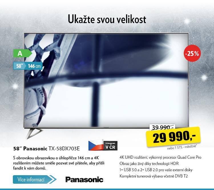 TV Panasonic TX-58DX703E