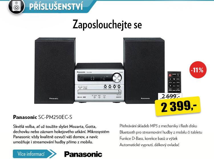 Ozvučení Panasonic SC-PM250EC-S