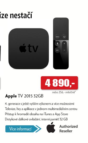 Multimediální centrum Apple TV 2015