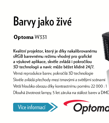 Projektor Optoma W331