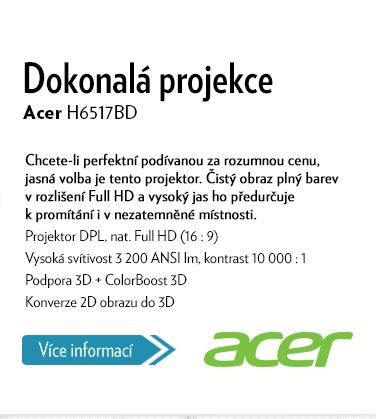 Projektor Acer H6517BD