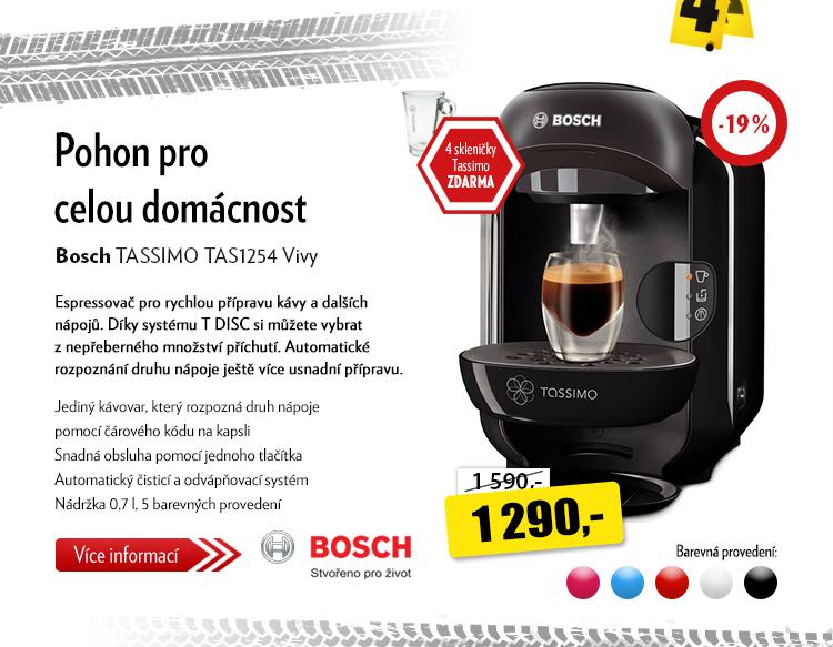 Kávovar Bosch TASSIMO TAS1252 Vivy